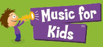 Footer Logo Music for Kids